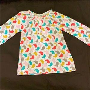 Cute birdie top for kids